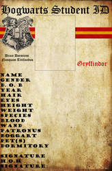 Gryffindor Hogwarts ID by HogwartsLover