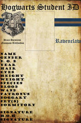 Ravenclaw Hogwarts ID by HogwartsLover