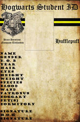 Hufflepuff Hogwarts ID by HogwartsLover