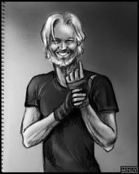 Julian Assange by SistersMinlivi