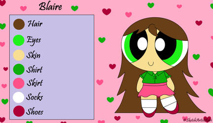 Blaire reference sheet