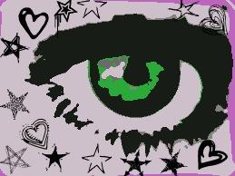 GReen eye by Sassafras-Chipie