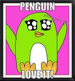 Penguin love by Sassafras-Chipie