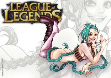 League of Legends - Jinx by Nekucciola by Nekucciola