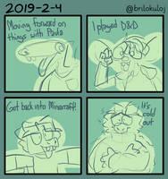 Daily Comics: 2019-02-04 by brilokuloj