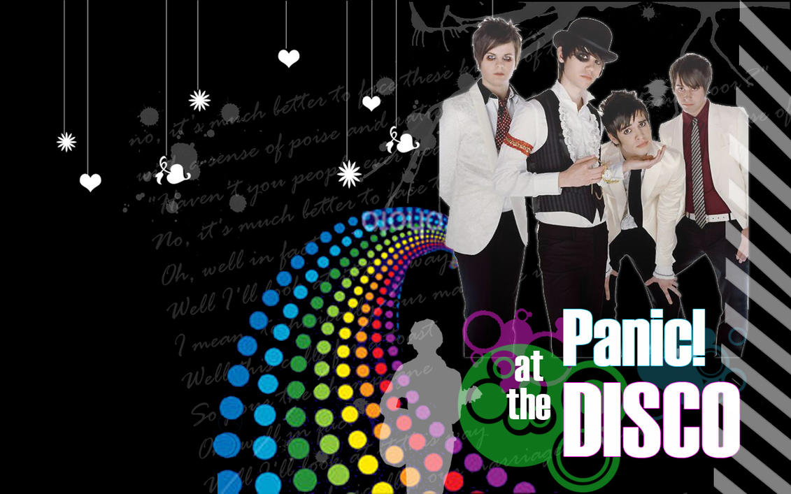 Panic At The Disco Logo Wallpaper Panic at the disco wallpaperPanic At The Disco Logo Wallpaper