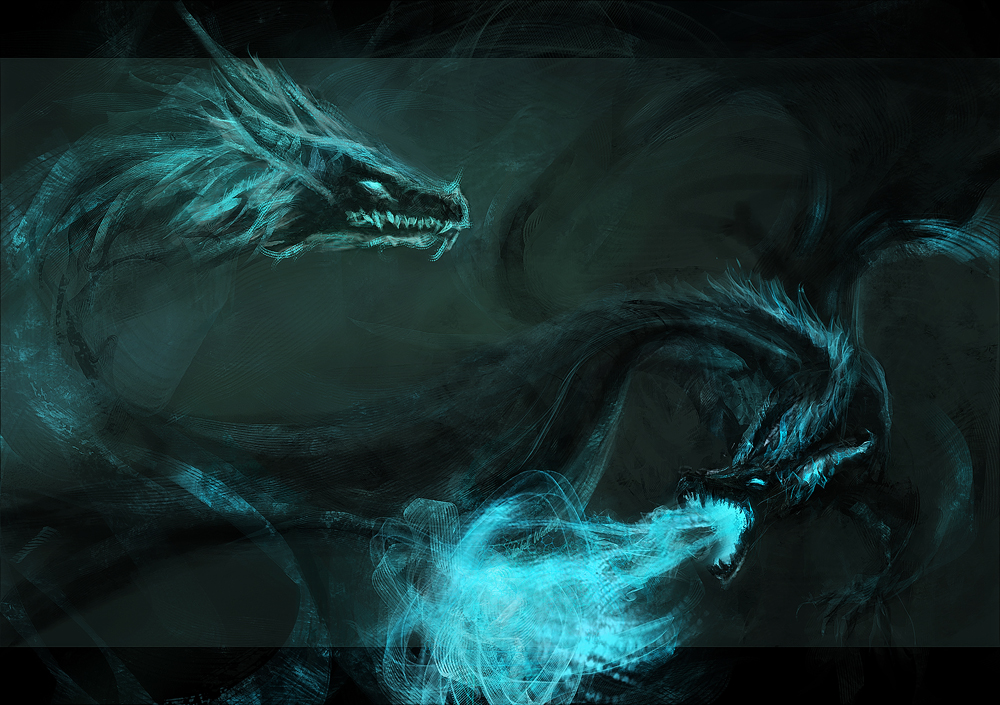 Spectral Dragons by Westling