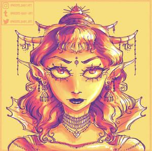 Goddess Character Design