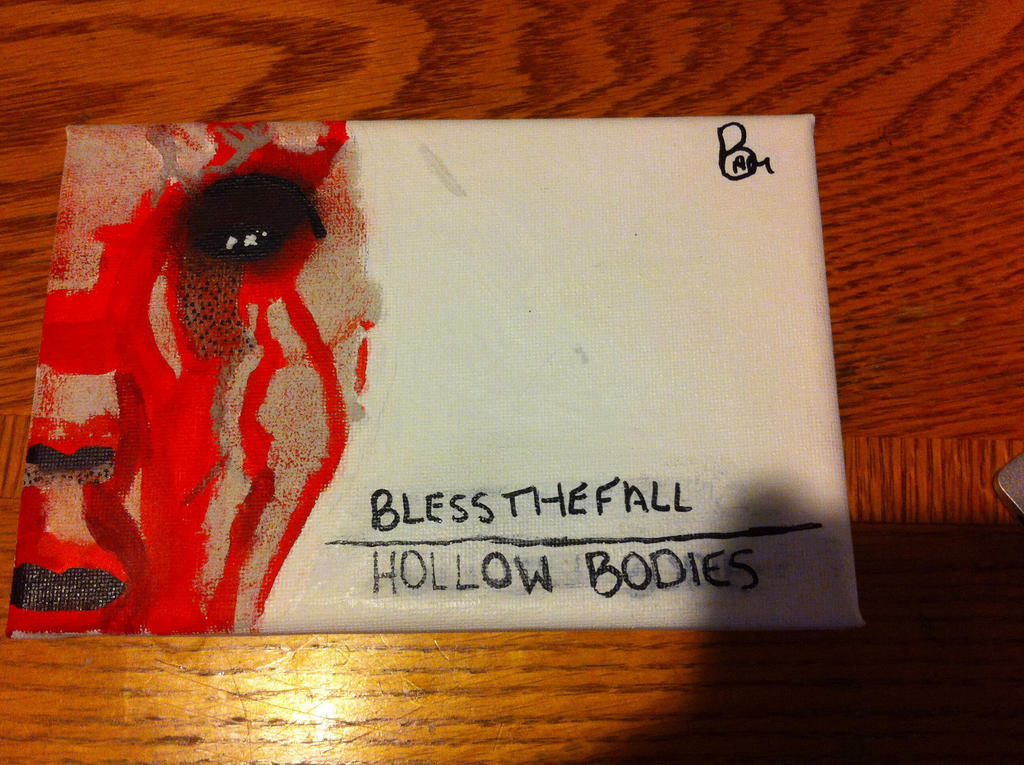 blessthefall - Hollow Bodies Album Cover(painting) by ...