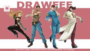 Drawfee goes Jojo