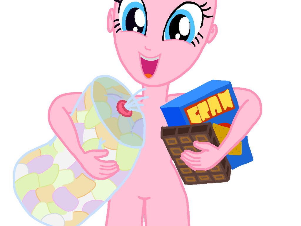 pinkie pie 'SMORES!' base by sapphirecharming