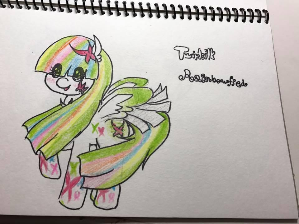 Twirlsilk Rainbowfied by sapphirecharming