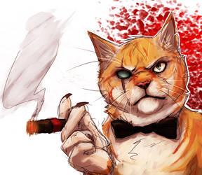 James Bond Villain? by TigresToku