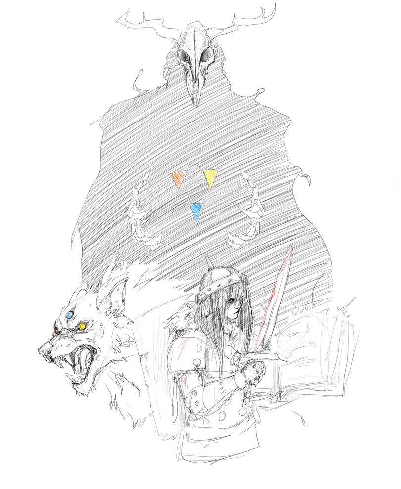Sword and Sworcery by TigresToku