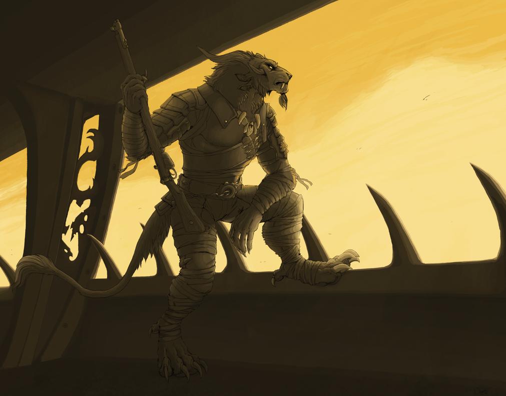 The Sentinel by TigresToku