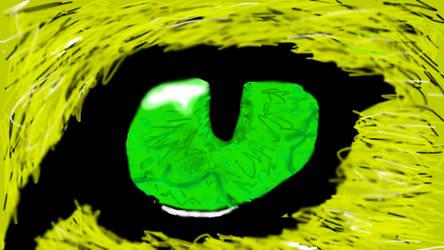 Lion Eye by Jaycookscookies