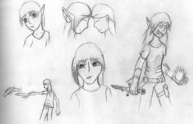 Talen Sketches by Miliath