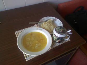 My dinner by PrisonerOfIce