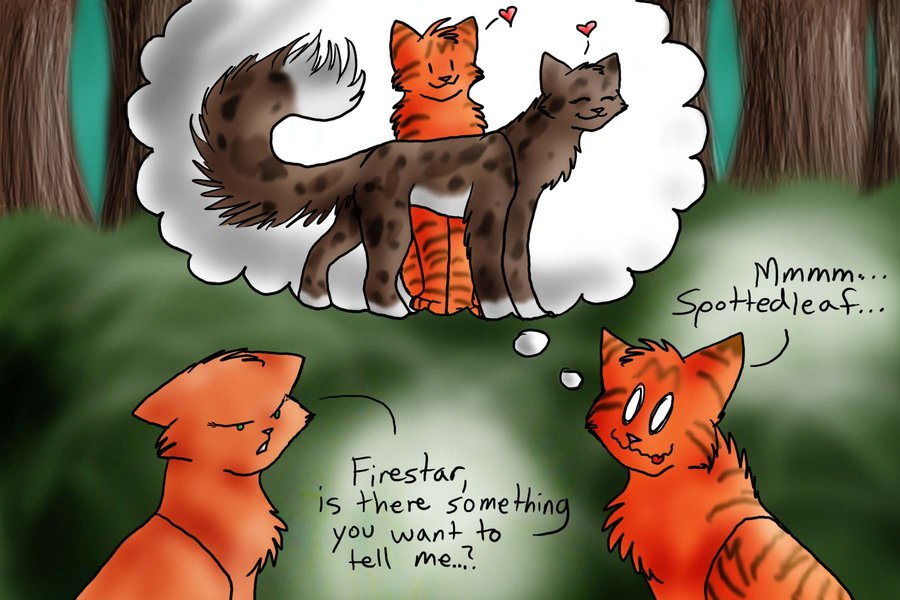 Warriors Cats Firestar And Sandstorm Mating