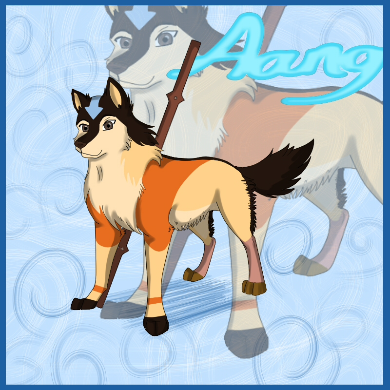Avatar: Aang Wolf by DarkNoctem on DeviantArt