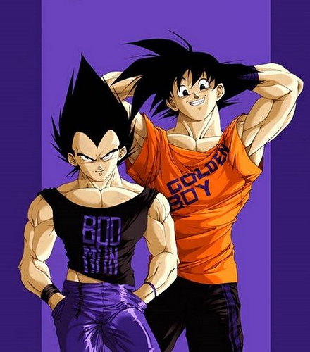 Goku And Vegeta    1 By DBpictures