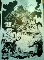 Batman rogues gallery. work in