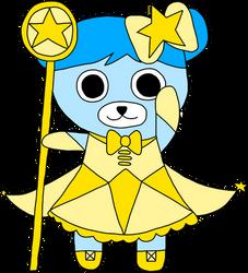 Magical Bear Bluebear by novadreamer648