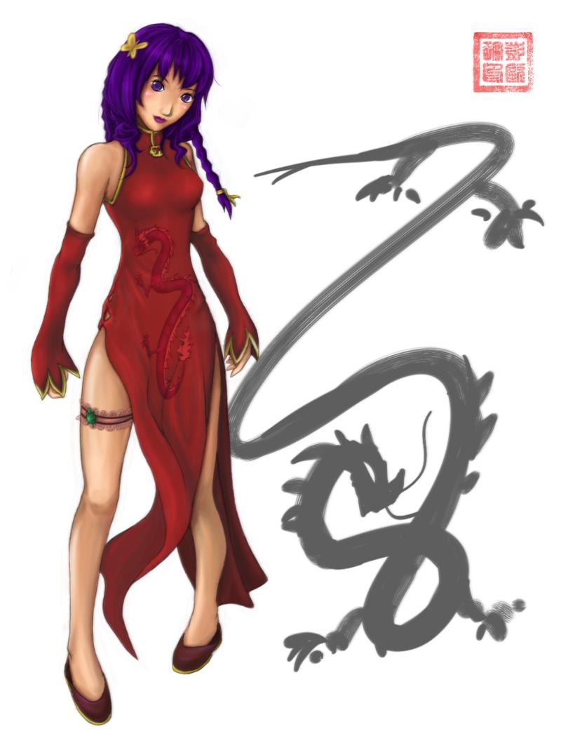..Chinese girl cosplay.. by koruldia
