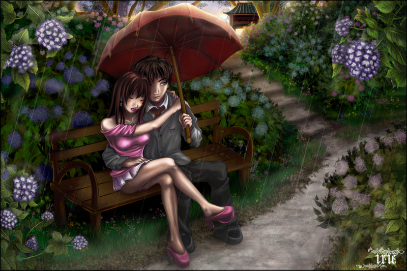 Images Of Lovers In Rain: ..Lovers In The Rain.. By Koruldia On DeviantArt