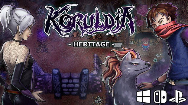 ..Koruldia Heritage Cover on Kickstarter..