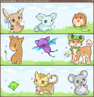 ..Cutie Pets Collection 2..