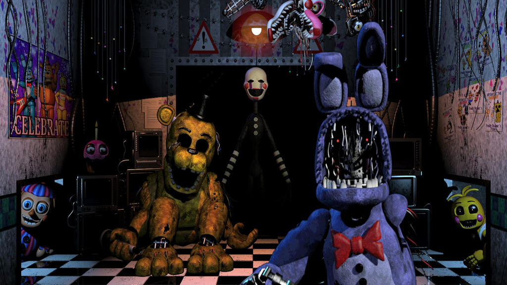 Five nights at freddy s 2 by thelloz on deviantart