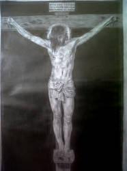Jesus Christ by Diego Velazquez by manuvart