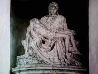 Michelangelo's Pieta by manuvart
