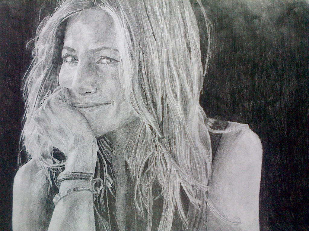 Jennifer Aniston by manuvelez-art