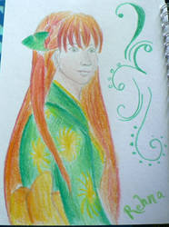 Rehna - Colored Version by PetalRain