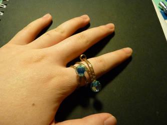 Bangle Ring by PetalRain