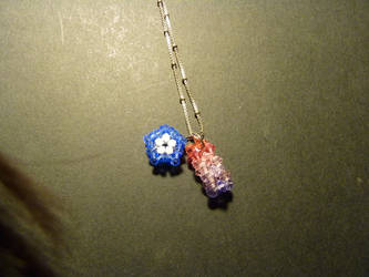 Star Rod Pendant by PetalRain