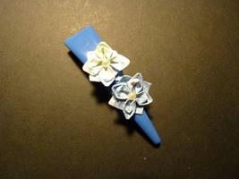 Paper Lotus Hairclip