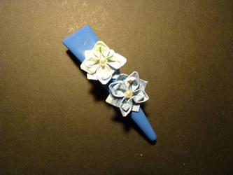 Paper Lotus Hairclip by PetalRain