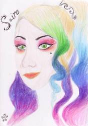 Rainbow Saire by PetalRain