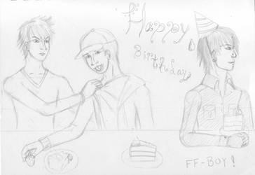 Happy Birthday FF-Boy! by PetalRain