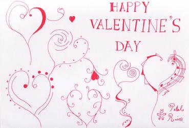 Happy Valentine's Day 2013 by PetalRain