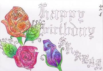 Birthday Card by PetalRain