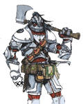 Case Whitehide - Warforged