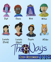 The Nays Major Characters 01