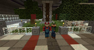 Mario and Luigi Minecraft by ThatGuyWithTheShades