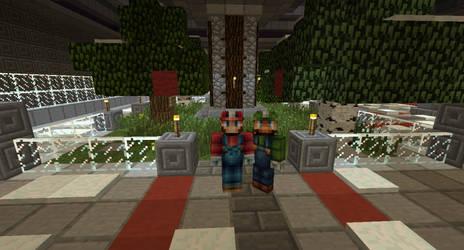 Mario and Luigi Minecraft