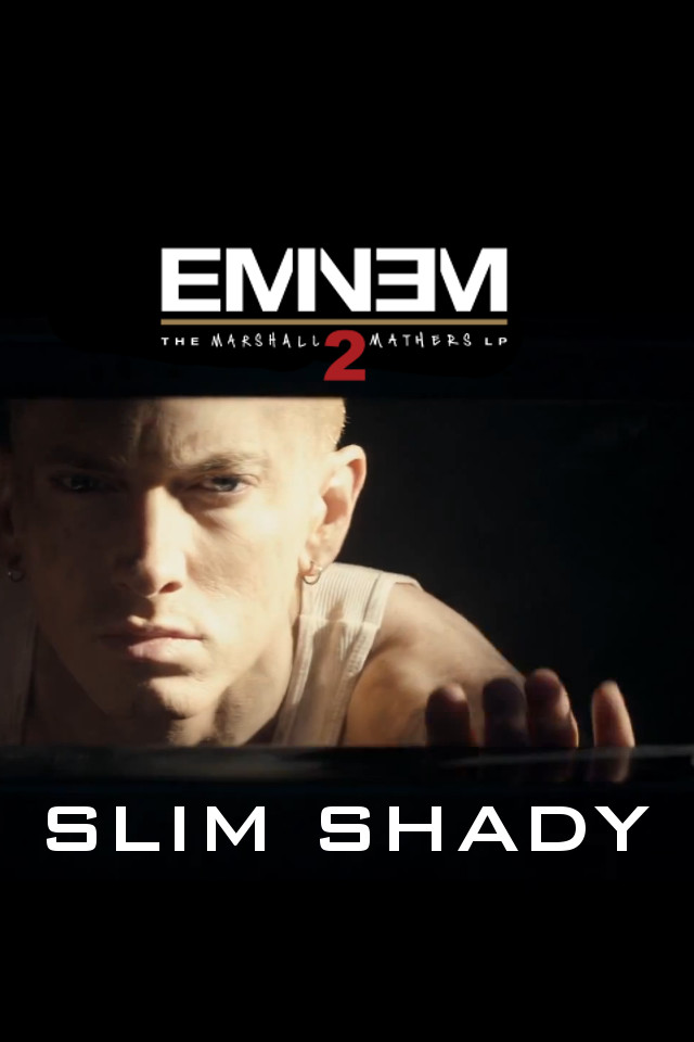 eminem mmlp2 iphone wallpaper by thatguywiththeshades on