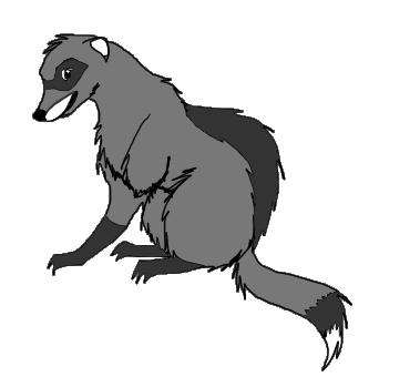 Grim the 3 legged ferret by DisposableMutt